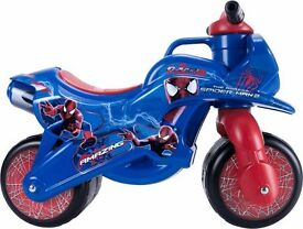 Spider-Man Foot To Floor Ride On. new in box