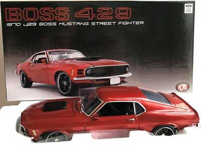 ACME A1801836 1970 FORD MUSTANG BOSS 429 STREET FIGHTER 700 1/18 DIECAST CAR