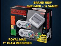 🔥 BRAND NEW Super Nintendo SNES Mini Classic with 21 Games - FAST DISPATCH 🔥