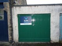 AVAILABLE 16/3/2018 - Single Lock-up Garage To Rent - Central Edinburgh Location - Safe and Secure