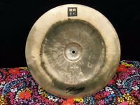 18 INCH STAGG DH CHINA CYMBAL IN GOOD CONDITION. HARDLY USED £40