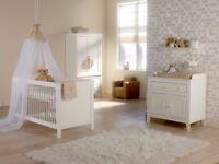 "Nursery wardrobe and dresser - white ""Montana"" by Europebaby"