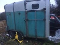 IFOR WILLIAMS HB401 mare and foal trailer