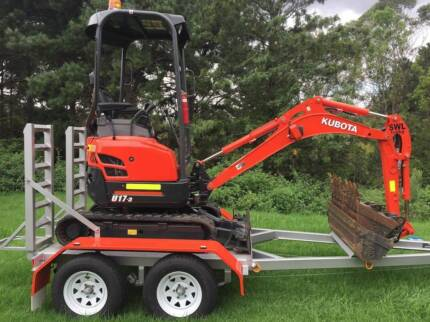 2016 1.7T Excavator Wet/Dry Hire from $220 per day