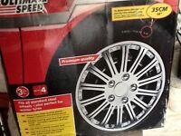 "Ultimate Speed wheel trim set 14"""