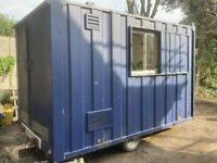 Towable Site Welfare trailer unit