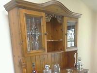 Erinwood Antique Pine Dresser, Table and Chairs