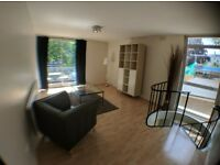 Spacious bright and airy Two double bedroom duplex apartment at Haverstock Hill, Belsize Park, NW3