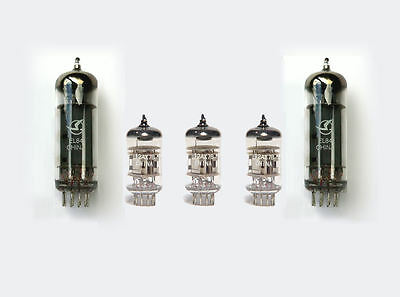 EL84 & 12AX7/ECC83 Valve kit for Marshall 1958/1973/1974 and kit 18W guitar amps