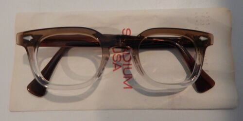 Vintage American Optical Hybrid Stadium Brown 44/24 Men