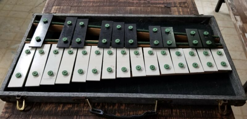Vintage B F Kitching Co Xylophone