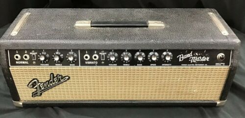 1968 Fender Bandmaster Amp Upgraded To Showman Guitar Amplifier Serviced