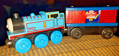 Thomas The Train Wooden Railway DAY OUT WITH THOMAS ENGINE & TRAIN BOX CAR 2011