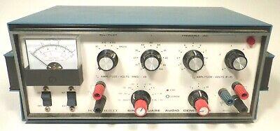 Heathkit Sine-square Audio Generator Ig-5218- Works Great Excellent Sq. Signal