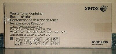 Genuine Xerox Oem Waste Toner Container 008r12990 New Sealed Free Shipping