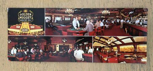 Vintage Golden Nugget Las Vegas Postcard