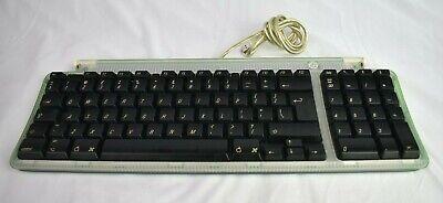 Vintage Apple Mac USB Keyboard m2452 iMac Green