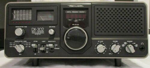 Realistic DX-302 Quartz-Synthesized Shortwave Receiver