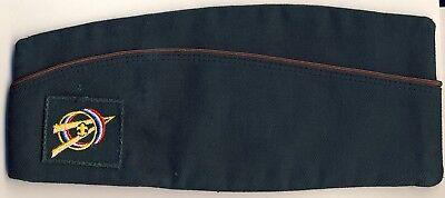 Vintage Explorer Scouts Boyscouts America BSA GreenWedge Uniform Cap Hat 1959c