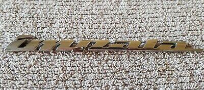 2000-2005 Chevrolet Impala Rear Trunk Decklid Emblem Badge Logo OEM Chrome