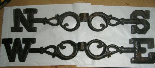 Antique Weathervane Directionals---Cast Iron