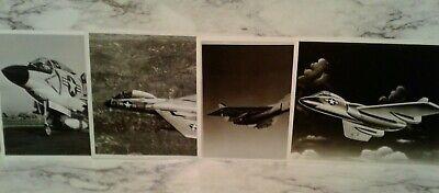 4 NASA Airforce Jet Photos 8X10 APOLLO Print Set