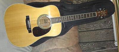 Vintage ALVAREZ 5022 Acoustic Guitar w/ Snowflake Inlays