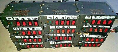 --1-- Federal Signal Sw400ss Neg Gnd Light Control Switch Box A03