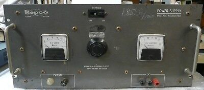Kepco Voltage Regulated Power Supply Model Sm-14-30m Input-105-125v 60 Cycle