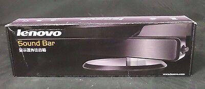 Case of 20 Brand New Lenovo LXV-J203LS 2 Channel Monitor Sound Bar w/ Mic Input