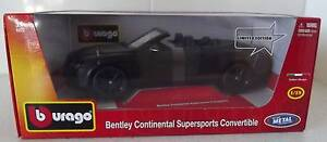 Burago Bentley Continental Supersports Convertible Man Cave Model Port Macquarie Port Macquarie City Preview