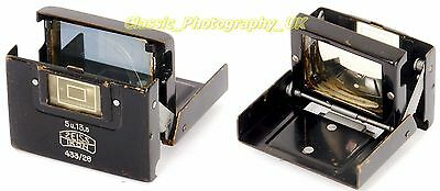 ZEISS Ikon Finder 433/26 for 5 & 13.5cm / 50 & 135mm Lenses on CONTAX II & III