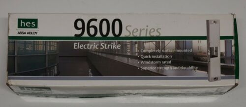 hes Assa Abloy 9600 Series Electric Strike Model 9600-12/24-630 Surface Mounted