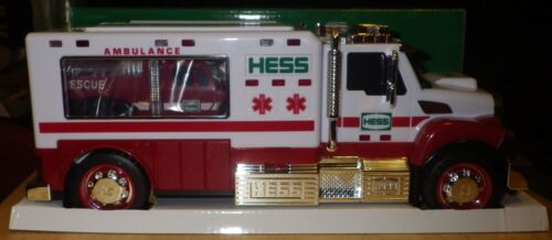 2020 Holiday Hess -Ambulance and Rescue-Toy Truck- In Hand Ready To Ship
