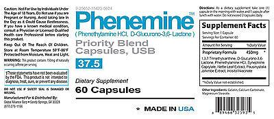3 Phenemine Adipex Diet Pills New Technology That Work Slimming Suppressant 37.5 1