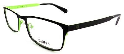 GUESS GU1891 005 Men's Eyeglasses Frames LARGE 54-18-145 Matte Black + CASE