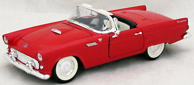 1955 Thunderbird Convertible Red Ford Road Legends Diecast 1:18 Scale T-Bird