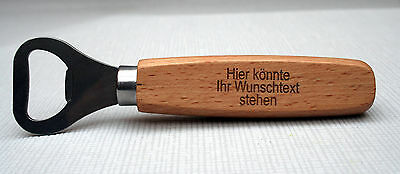 Retro Flaschenöffner mit Wunschgravur