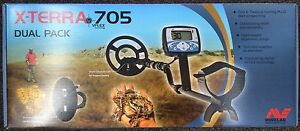 Minelab X-TERRA 705 Dual Pack Gold / Metal Detector Plus Extras Ryde Ryde Area Preview