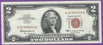 1963  2 00 United States Note   Granahan Dillon   A02358933a