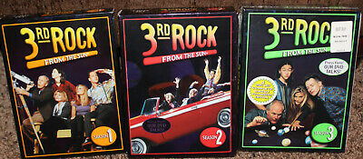 3rd ROCK FROM the SUN 4-disc sets SEASONS 1, 2 & 3 factory sealed TV (3rd Rock From The Sun Tv Series)