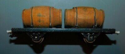 Lr louis roussy éch o réf 2120 . wagon foudre . tonneaux en bois . l 17 cm