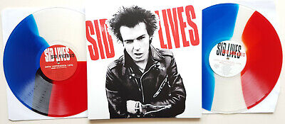 Sid Vicious 'Sid Lives' 2xLP 4xshows ltd TRI-colour! vinyl with 2 New York Dolls