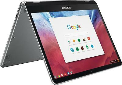 "Open-Box Excellent: Samsung - 12.3"" Chromebook Plus - Touch Screen- 4GB memor..."