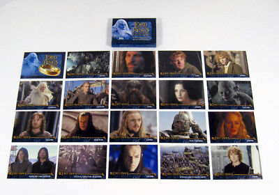 2003 Topps The Lord of the Rings The Return of the King Factory Set (20) Nm/Mt