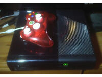 xbox slim color black with all accessories and games 250gig hdd in very good condition