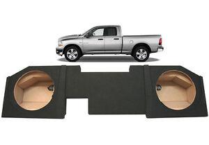 2002-2012-Dodge-Ram-Quad-Crew-Cab-Truck-Dual-12-Speaker-Subwoofer-Sub-Box-New