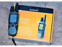garmin rino 530hcx gps radio two way radio geocaching trekking