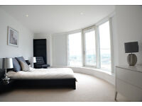 Two Bedroom, Two Bathroom Penthouse to rent in Millharbour, E14 - SHORT LET