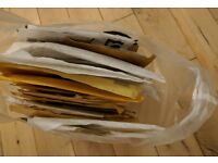 FREE - Parcel jiffy bags - used, but perfect for recycling, great for ebay seller!